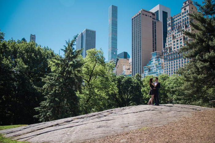 Central park photoshoot