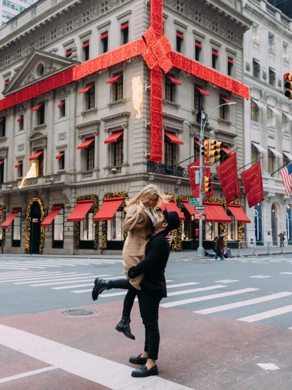 Christmas Photoshoot NYC